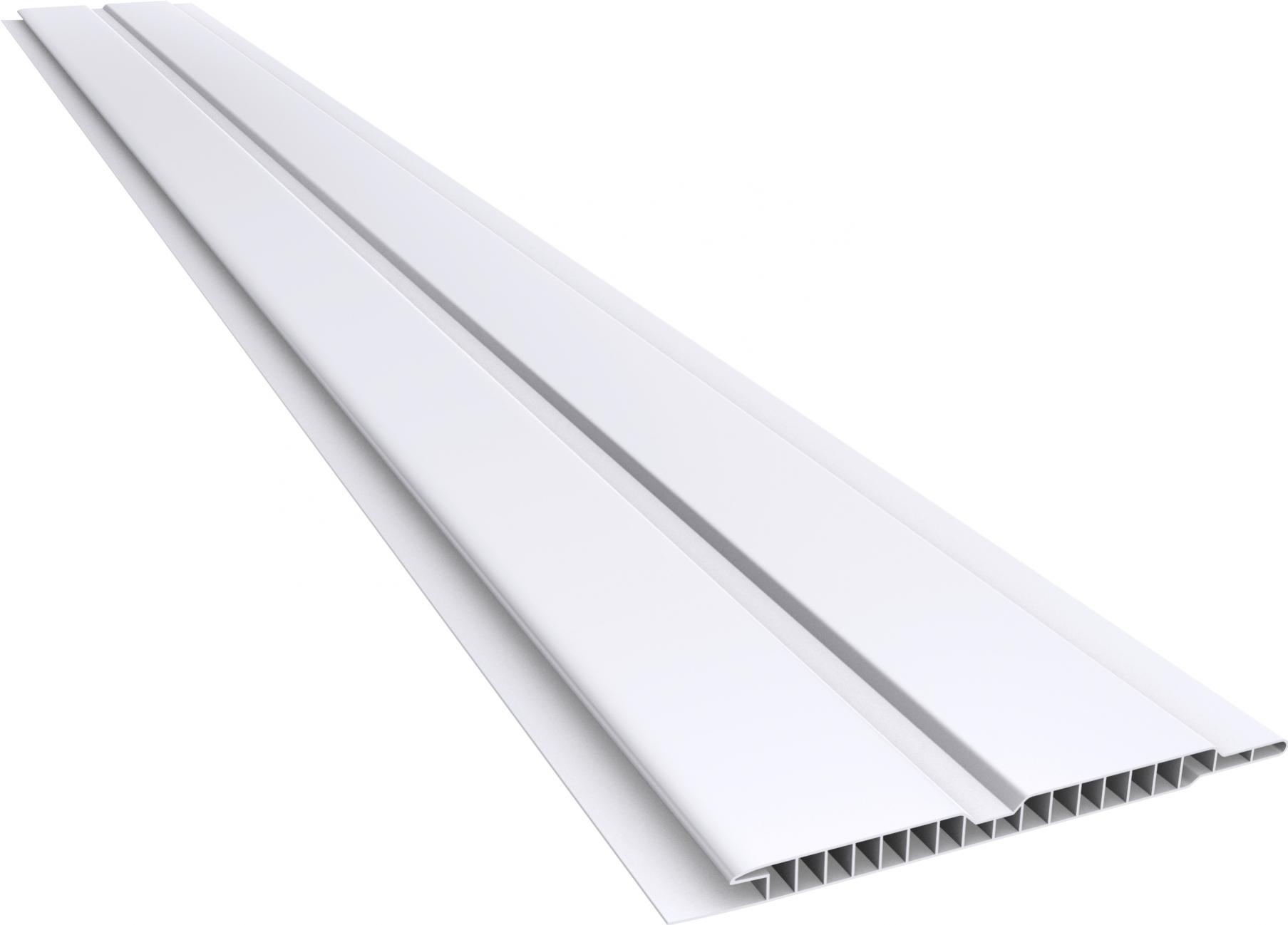 Forro em PVC 100/07mm Canelado