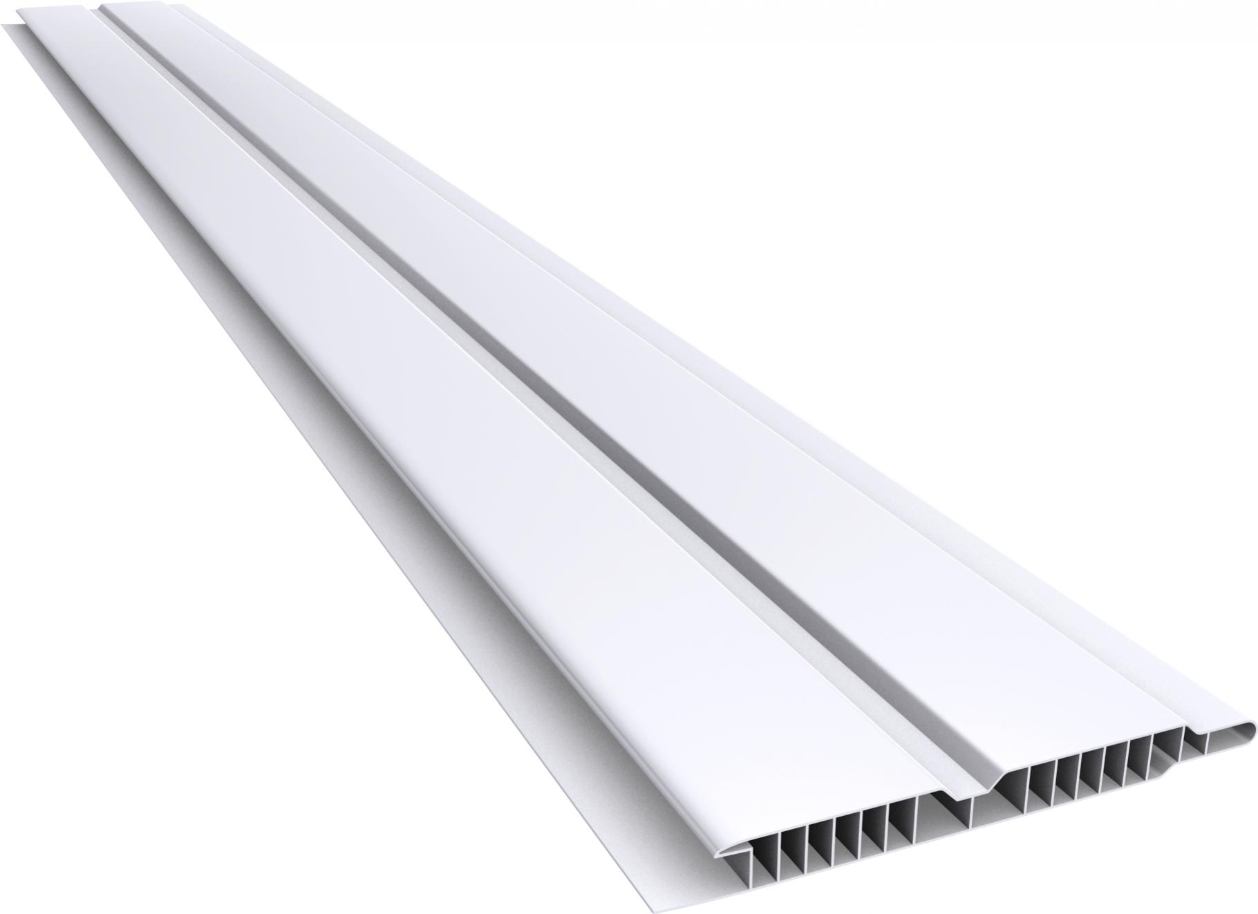 Forro em PVC 100/10mm Canelado