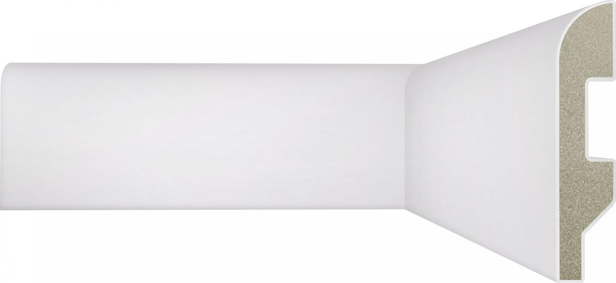 Rodapé 70mm x 15mm Boleado (Poliestireno)